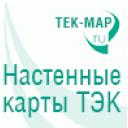 Настенные карты ТЭК